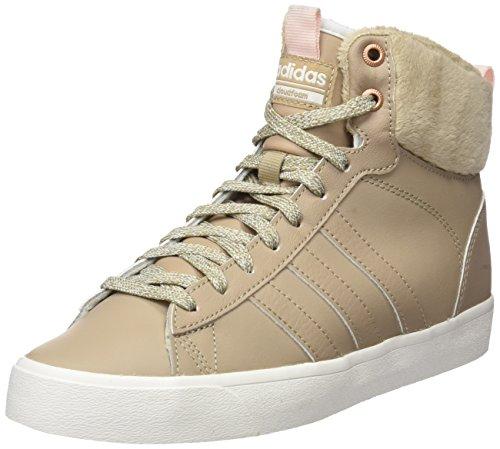 adidas CF Daily QT WTR W, Zapatillas Altas Mujer, Negro (Trace Khaki/Icey Pink), 36 2/3 EU