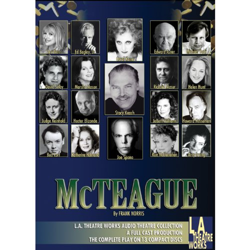 McTeague (Dramatized) audiobook cover art
