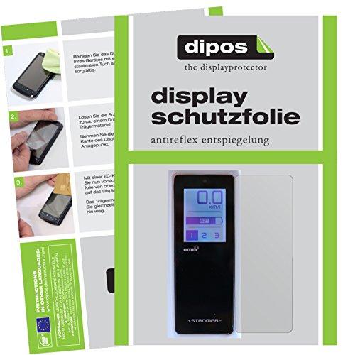 Preisvergleich Produktbild dipos I 3X Schutzfolie matt kompatibel mit Stromer ST2 Omni-Display Folie Displayschutzfolie