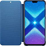 Honor 8X - PU Flip Protective Cover, Sapphire Blue