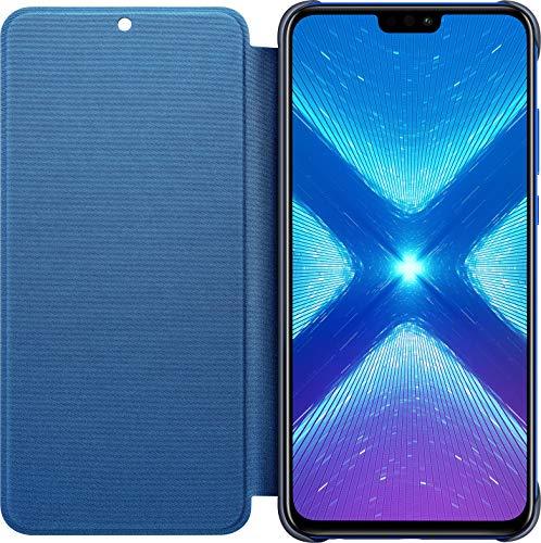 Huawei Honor 8X - PU Flip Protective Cover, Sapphire Blue
