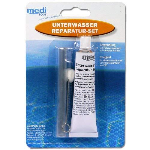 Medipool Unterwasser Reparatur-Set - Spezialkleber und Folienstück