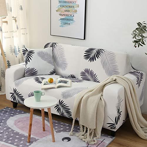 PPOS Funda de sofá elástica Fundas elásticas con Todo Incluido Funda de sofá para Diferentes Formas Funda de protección contra el Polvo A9 3 Asientos 190-230cm-1pc