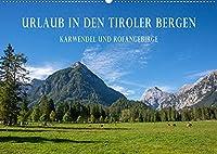 Urlaub in den Tiroler Bergen - Karwendel und Rofangebirge (Wandkalender 2022 DIN A2 quer): Geniessen Sie mit uns jeden Monat ein kleines Stueckchen Tirol in den eigenen vier Waenden! (Monatskalender, 14 Seiten )