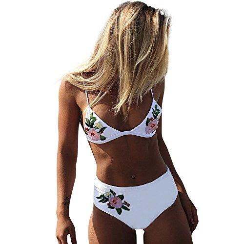HOMEBABY Vrouwen Push Up Padded Bra Bikini Set Braziliaanse Badmode Retro Twee Stuk Badpakken Sexy Zomer Strandkleding Tiener Meisjes Strand Pak Strand Badpakken voor Dames