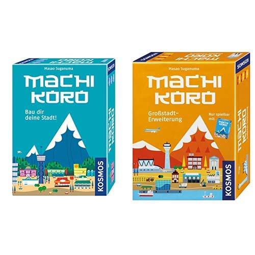 Kosmos 692322 - Machi Koro &  692568 - Machi Koro, Großstadt Erweiterung