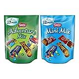 Nestlé Box Adventure Mix e Mini Mix Snack Assortiti (circa 59 Pezzi)