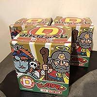 ビックリマン グラス全3種コンプリートセット スーパーゼウス スーパーデビル シャーマンカーン みんなのくじD賞