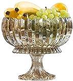 Vassoio per Frutta e Dolci per Vassoio di cristallo di cristallo di vetro del vetro del bicchiere del vino nordico del bicchiere del vino del vetro del vino Personalizzato Dispositivo di frutta secca