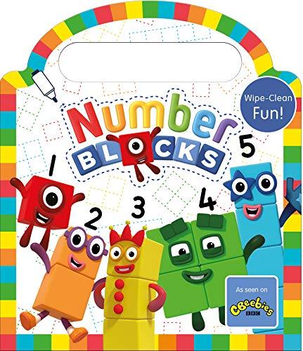 Numberblocks Wipe Clean (Numbers 1-5) - Pen Included