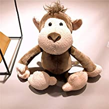 EOFK 1Pc 25Cm Ular Forest Animals Stuffed Doll Plush Jungle Series Animal Lion Monkey Zebra Elephant Toys Kids Gift Toddler Must Haves Toddler Favourite Superhero Coloring Unboxes