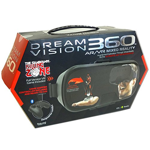 Dream Vision 360 AR/VR Mixed Reality Compatible for iOS and Android Devices
