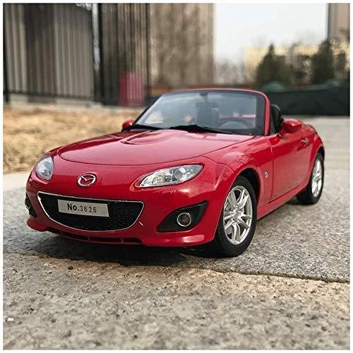 Zixin 01:18 Mazda MX5 Convertible Modelo Deportivo de Coches de Juguete Modelo de Coche de aleación Modelo de Coche Volante se Puede encender (Color: Rojo)
