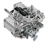NEW HOLLEY STREET WARRIOR CARBURETOR,600 CFM,4160,MANUAL CHOKE,VACUUM SECONDARIES COMPATIBLE WITH CHRYSLER, GM, FORD 700R4/200R4 THROTTLE LEVER