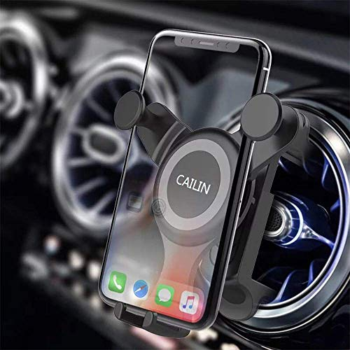 Car Phone Mount Compatible Applicable Mercedebenz Mobile Phone Holder A B C E S-Class ,FordMustang,Mini-Countryman Cooper s Automatic Locking Universal Air Vent Cell Phone Holder