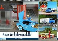 Neue Verkehrsmodelle aus Berlin (Wandkalender 2022 DIN A2 quer): Hier stehen die kleinen Modellautos im Fokus. (Monatskalender, 14 Seiten )