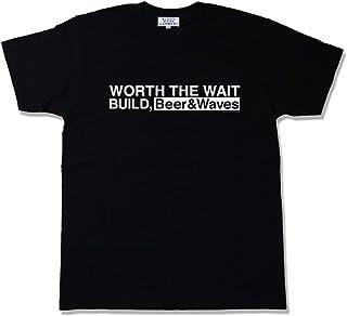 BLUCO(ブルコ)B.W.G WORTH Tシャツ ブラック・ホワイト