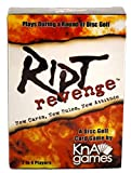 Ript Revenge Disc Golf Card Game   Fun Disc Golf Game   Plays During a Round of Disc Golf   Play for Skins or for Strokes   2-4 Players   Pack of 52 Cards