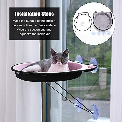 Le hamac de fenêtre pour chat Sunbath