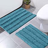 Best Bathroom Rugs - NICETOWN Bathroom Rugs Slip-Resistant Absorbent Soft and Fluffy Review