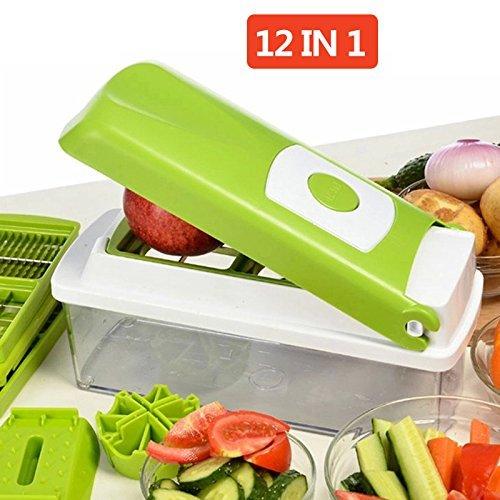 NOVEL Stainless Steel Vegetable and Fruit Chipser...