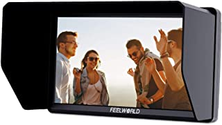 Irfora Portable Camera Field Monitor Video Assistant with 5.5 Inch IPS Full HD Dispaly Screen Resolution 1920 * 1080 Peaki...