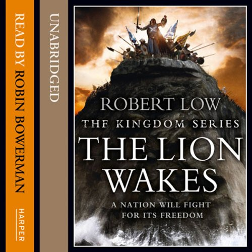 The Lion Wakes audiobook cover art