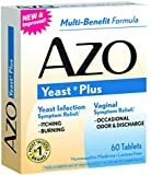 AZO Yeast Plus Tablets 60 ea (Pack of 5)