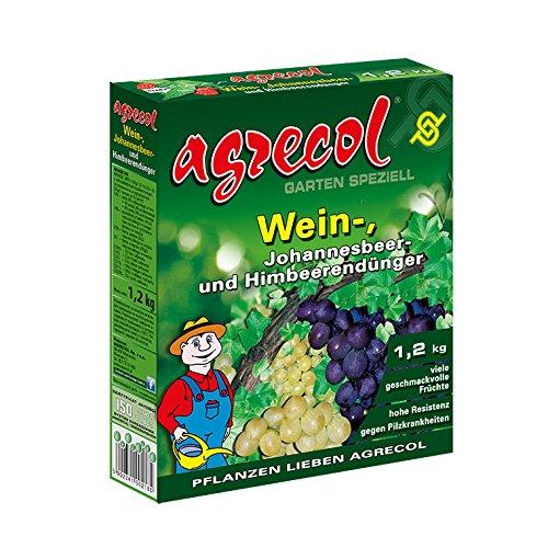 Premium Granulat Beerendünger Weinreben Himbeeren Brombeeren Johannesbeeren Dünger - hochkonzentriert und hochergiebig - ausreichend für 40 Pflanzen