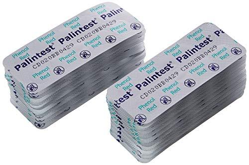 Palintest - Pastiglie di fenolo rosso per test PH, confezione da 250 pastiglie