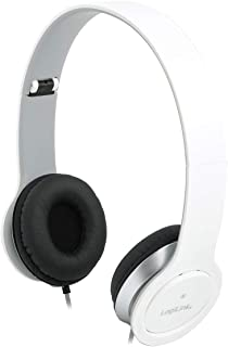 Logilink HS0029 3.5 mm Stereo Headset with Microphone - White