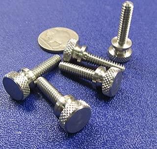8-32X3//4 Thumb Screw with Shoulder Full Thread Zinc