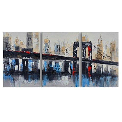Dipinti su tela cornice di puro dipinti a mano olio pittura arte tre-incantesimo mano pittura astratta
