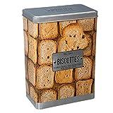 FIVE Simply Smart - Boîte À Biscottes'Relief IV' 24cm Argent