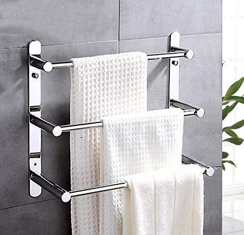 Preisvergleich Produktbild XGFTFX Moderne Handtuchleiter aus Edelstahl 304 Moderner Handtuchhalter Badezimmerprodukte Wandmontiertes Badezimmerzubehör