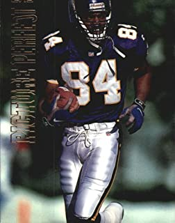 1999 Topps Picture Perfect Football Card #P10 Randy Moss