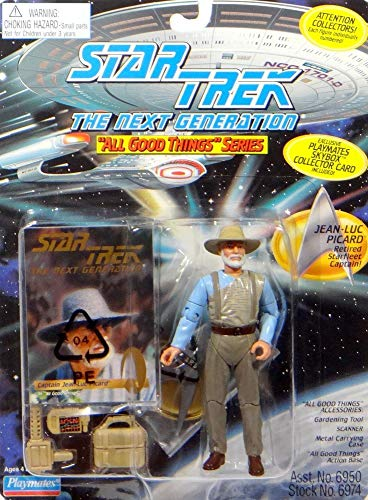 PlayMates Captain Picard in Zivil aus All Good Things - Actionfigur - Star Trek The Next Generation