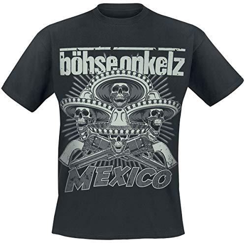 Böhse Onkelz Mexico 2014 Männer T-Shirt schwarz L