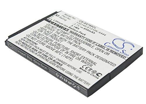 TECHTEK batería sustituye 4250366817255, para S30852-D2152-X1, para V30145-K1310-X444, para V30145-K1310-X445, para V30145-K1310K-X444 Compatible con [Unify] 52-S2352-R141, L30250-F600-C230, OpenScap