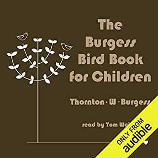 The Burgess Bird Book for Children audiobook cover art