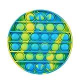 Wangduodu Sensory Fidget Toy Pop It Bubble Game, 1 Pieza Juguete Antiestrés Sensorial Sensoriales Juego, Estrés...