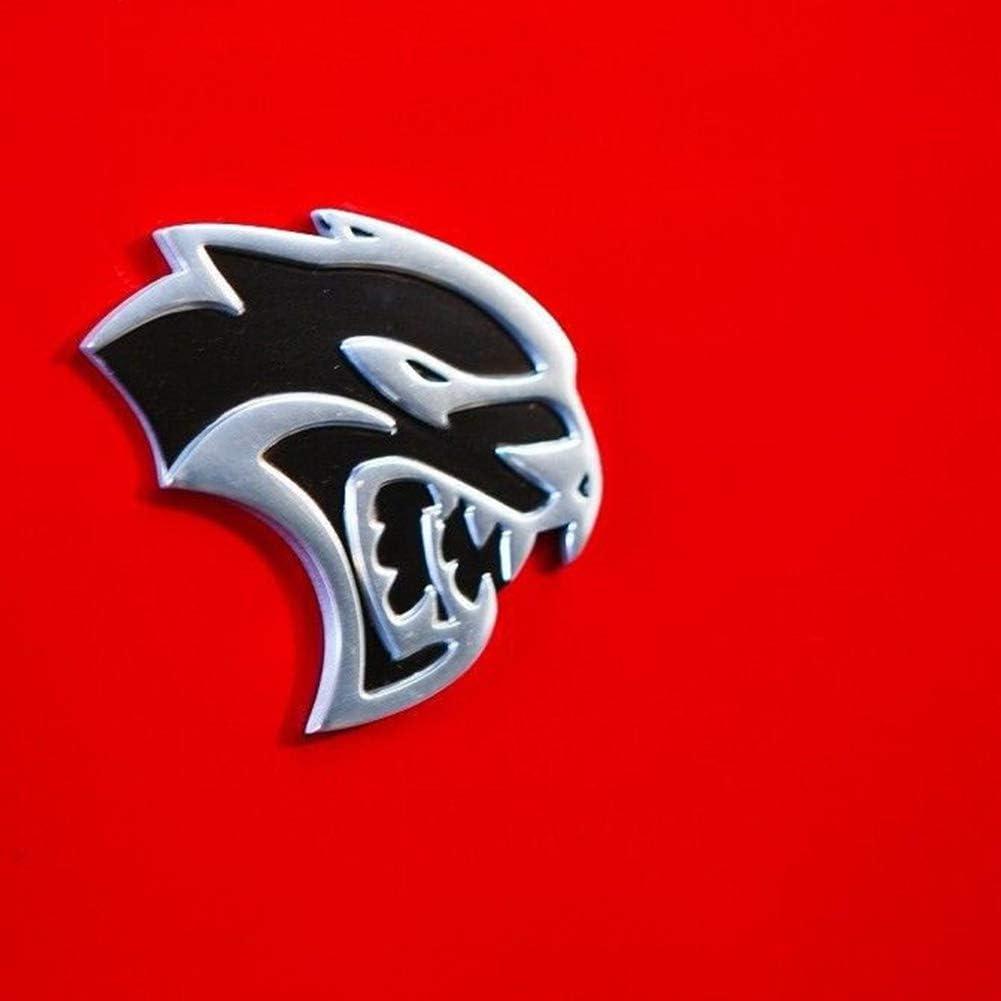 dodge hellcat emblem UpAuto Hellcat Emblem Links rechts 2D Hellcat Logo für Chrysler Dodge  Challenger SRT