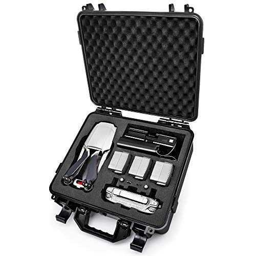 drone mavic Lekufee Custodia impermeabile Custodia rigida per DJI Mavic 2 Pro/Mavic 2 Zoom/Mavic 2 Enterprise (Drone e accessori non inclusi)
