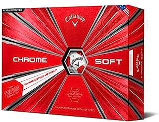 توپ گلف Callaway Golf Chrome توپ گلف Truvis، (یک دوجین)