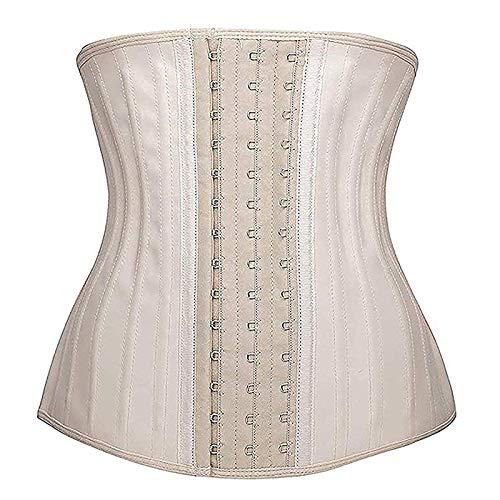 marca blanca Bustier Corsé para mujer, sexy, gótico, con cordones, deshuesado, cintura entrenadora, bordado floral, lencería, tanga, corséXXS