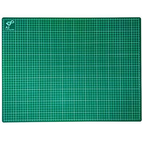 Tabla de Corte A2 Doble Cara 60 x 45cm Plancha de Corte 3 capas para Costura y Manualidades Base de...