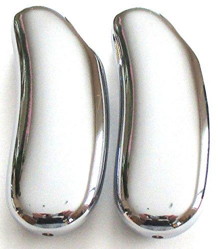 LIGHTERS Bezug für Feuerzeug Bic Mini, Serie Luxus (2, Set Silber)