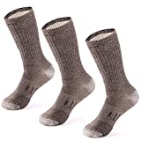 MERIWOOLMerino Wool Hiking Socks for Men n Women - 3 Pairs