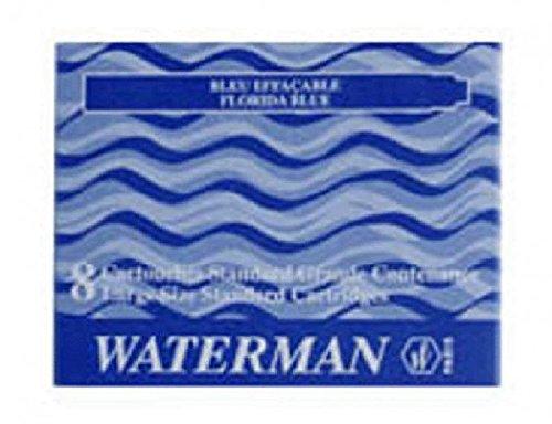 Waterman Tintenpatronen floridablau 8 Patronen 8ST Waterman