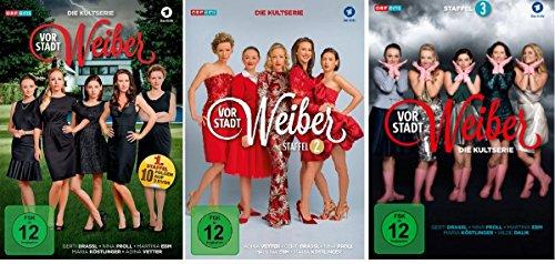 Vorstadtweiber - Staffel 1+2+3 im Set - Deutsche Originalware [9 DVDs]